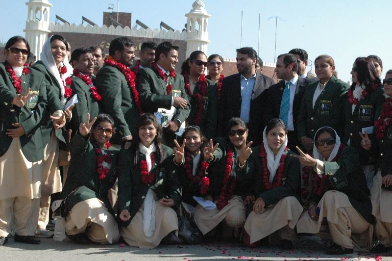 Pakistani women team is participating in World Cup Kabbadi Tournament1 - Sports Competition August 2014