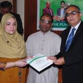 PEEF gives Rs1.5m scholarships to GCU students