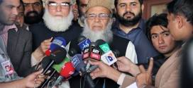 Taliban to assist the government in tracing the groups involved in terrorist activities: Munawar Hasan