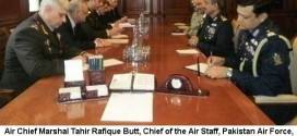 AIR CHIEF CALLS ON PRIME MINISTER OF AZERBAIJAN