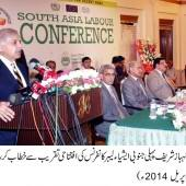 Shahbaz Sharif kicks off Labour Conference in a five star hotel