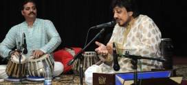 Ustad Hamid Ali Khan and Dr Uttam Baburao mesmerised the listeners at GCU