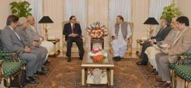 PM Nawaz Sharif have meeting with former president Asif Ali Zardari
