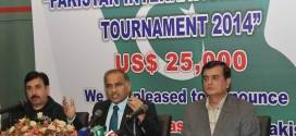 Pakistan to host World Tour squash competition