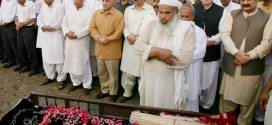 PML-N MPA Khurram Gulfam is laid to rest