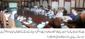DCO's to contribute for making Punjab Polio free:Chief Secretary Naveed Akram Cheema