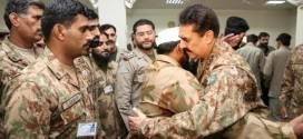 General Sharif spent on Eid day with troops in Miranshah