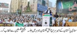 Absence of leadership in Muslim World causes unrest in Palestine, Kashmir: Siraj ul Haq