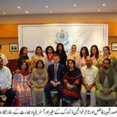 Diplomats laud women empowerment initiatives in Pakistsn