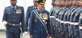 Air Chief  visits Sri Lankan Air Force Academy