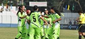 Balochistan United Football Club and Wapda women teams cruised into the final