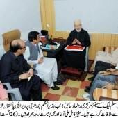 """Govt should accept demands of """"dharnas"""" : Ch Shujaat Hussain"""