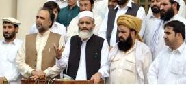 We have tried ur best to settle the issues : Siraj ul Haq