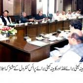 CM presides over meeting of Cabinet Committee on Flood and Cabinet Committee on Price Control