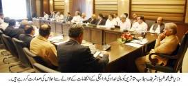 Members national and provincial assembly call on Shahbaz Sharif