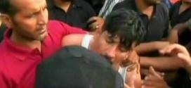 PAT workers thrashed a special branch cop