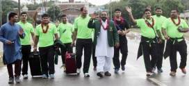 Lahore Lions return after defeating India in India