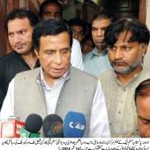 Medicines are not available in hospitals even rulers themselves are on ventilator: Ch Parvez Elahi