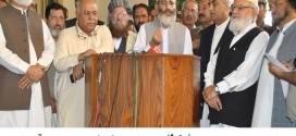 JI supports PM resignation if rigging proved: Siraj ul Haq