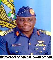 Air Marshal Adesola arrives in Pakistan on an official visit