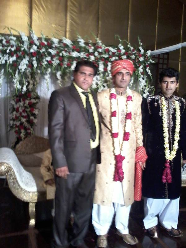 SP Ameen Bukhari at his wedding ceremony 12-4-14.jpg