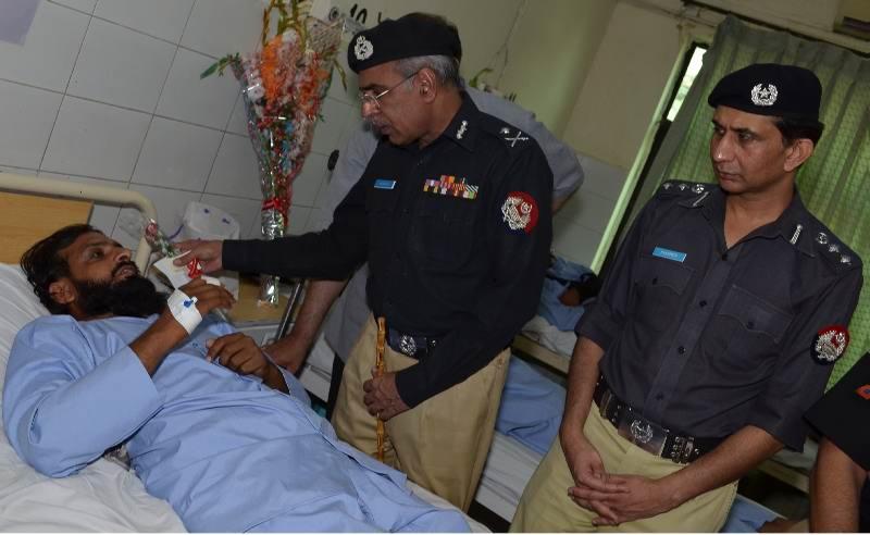 Mushtaq Ahmad Sukhera, today visited District Headquarters (DHQ) Hospital, Rawalpindi.jpg