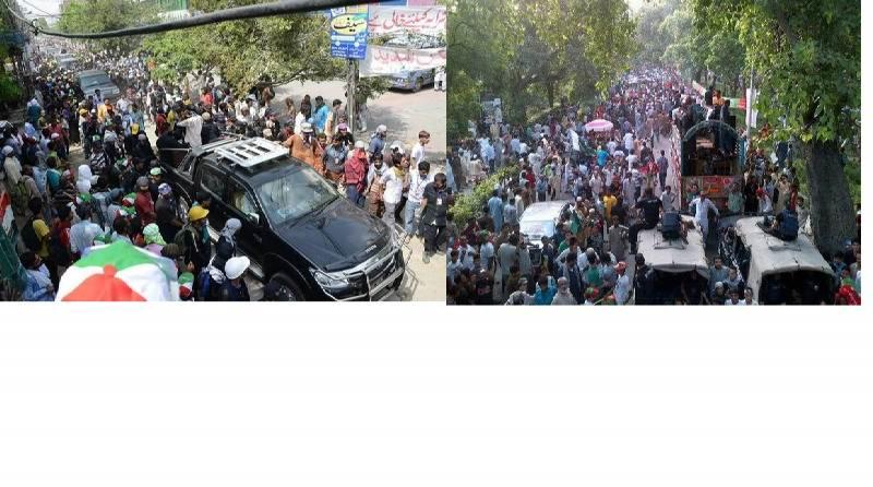Revolution March and Azadi March a comparitive view.jpg