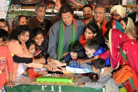 PTI chief Imran Khan celebrates Diwali with his party followers in Islamabad.jpg